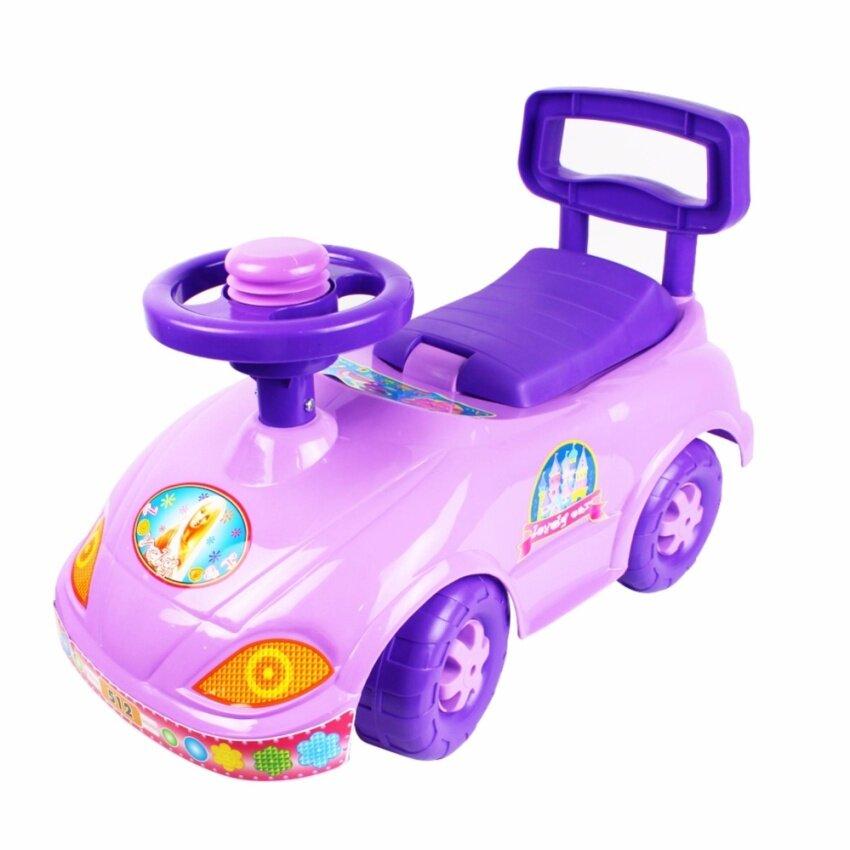 Telecorsa ของเล่นรถขาไถ สำหรับเด็ก ลายตุ๊กตาบาร์บี้ รุ่น TOY88-18B