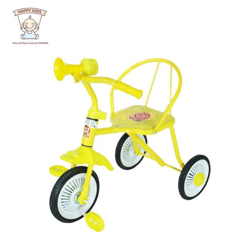 Thaiken รถจักรยานเด็กสามล้อ รุ่นโบราณ (สีเหลือง) 235