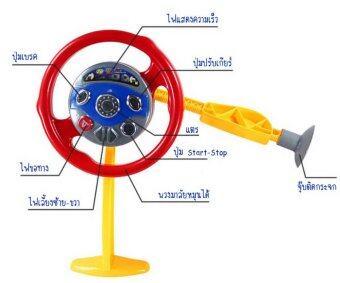 Thaitrendy พวงมาลัยหัดขับในรถสำหรับเด็ก (image 1)