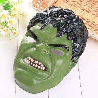 The Avengers Incredible Hulk Mask Halloween Christmas Party Cosplay Dress - intl