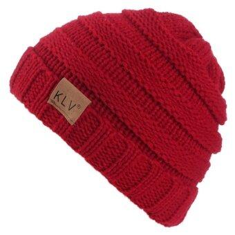Toddler Kids Baby Winter Warm Crochet Knit Hat Children Ski BeanieCap - intl