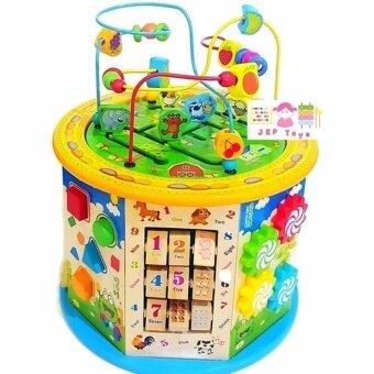 ToddsKids Toys กล่องกิจกรรมขนาดใหญ่ 11 กิจกรรม