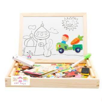 Todds & Kids Toys ของเล่นไม้เสริมพัฒนาการ ชุดกระดานเเม่เหล็กเเละกระดานดำชุด Happy Farm - 2