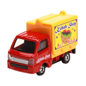 Tomica No. 57 Suzuki Carry Mobile Catering Truck (Red)