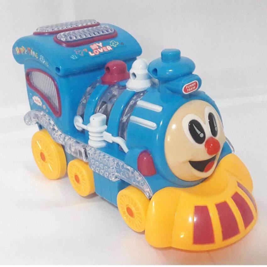 Tontoys รถไฟใส่ถ่านมีเสียงมีไฟ Choo Choo