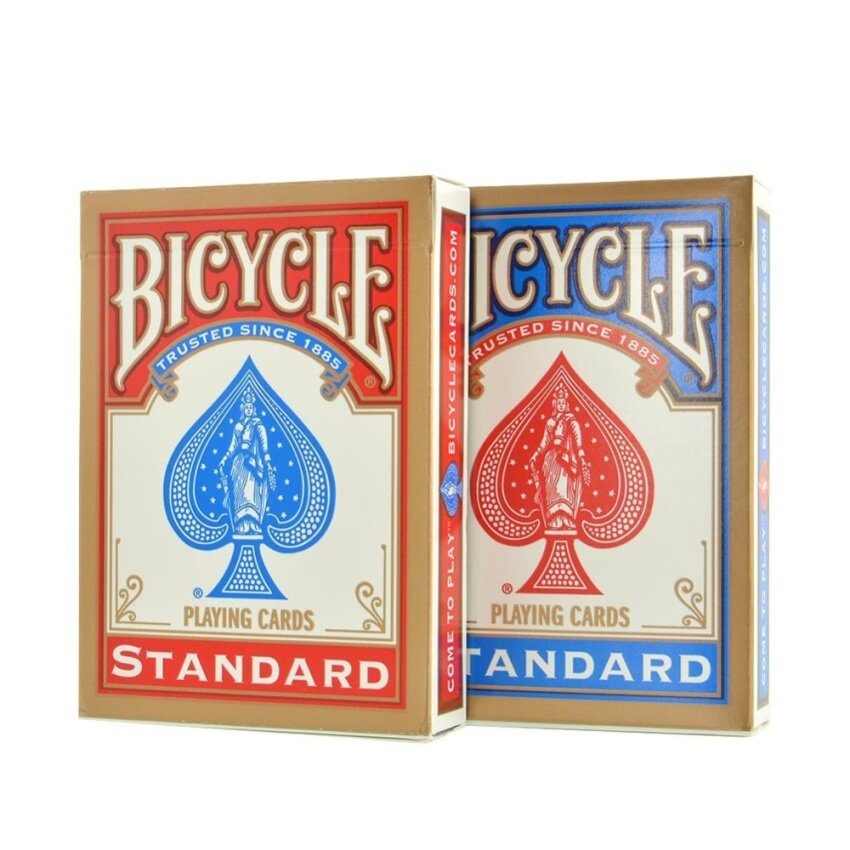 TOY New Version Standard Bicycle Deck Poker Playing Card Cards Magic 2pcs - intl