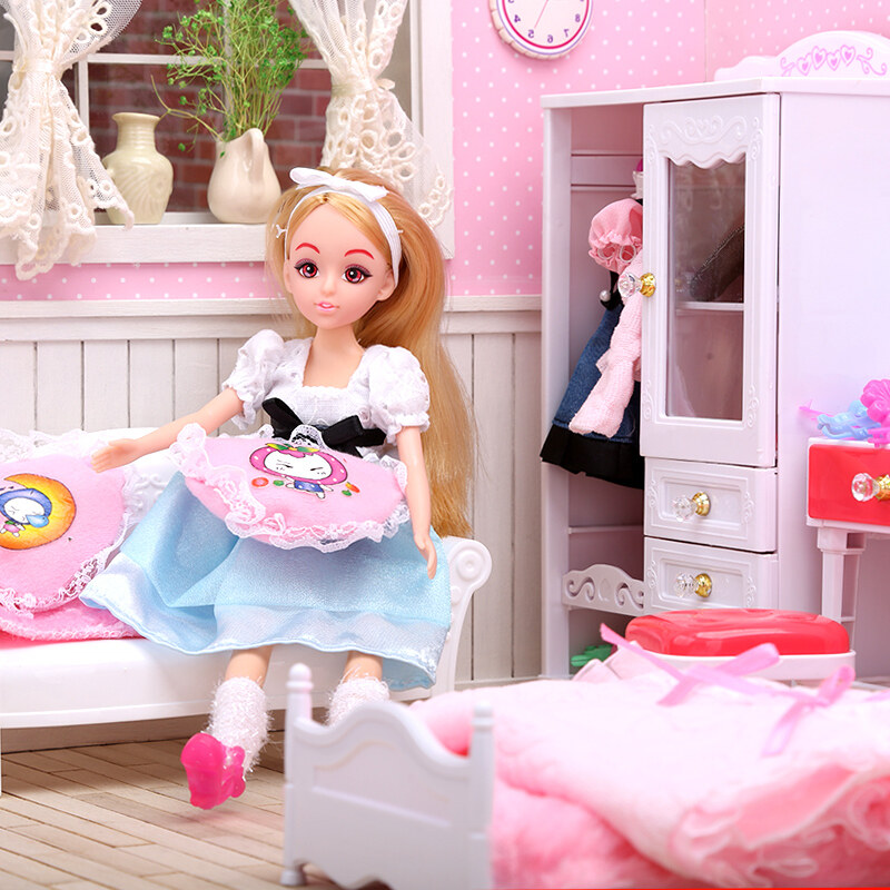 Toys ห้องพักในฝันสาวเด็กของเล่นตุ๊กตา