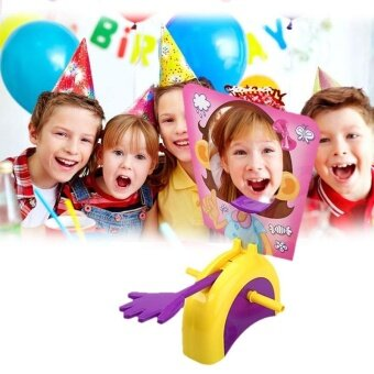 Toys Games Party Games Crafts Pie Face Game Girls Rocket Gaming Family Games Children Prank Toy Gifts - intl