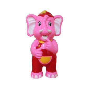Toysplus น้องรักดี ช้างพูดได้ เล่านิทาน ร้องเพลง (สีชมพู)