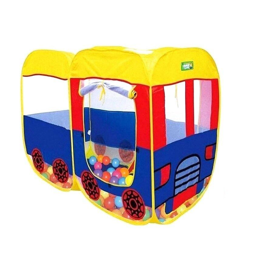 Toysplus บ้านบอล เต้นท์รถบัส
