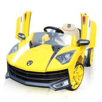Toyzoner รถแบตเตอรี่เด็กนั่ง แลมโบกินี่ LN6168 - สีเหลือง