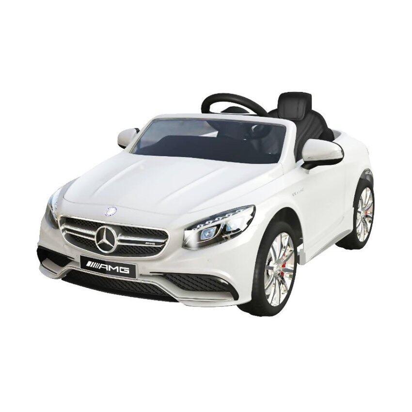ToyZoner Mercedes Benz SL 63 AMG รถแบตเตอรี่เด็กนั่ง 2 มอเตอร์ (White)