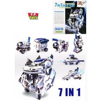 T.P.TOYS หุ่นยนต์พลังแสงอาทิตย์ ประกอบได้ 7 แบบ