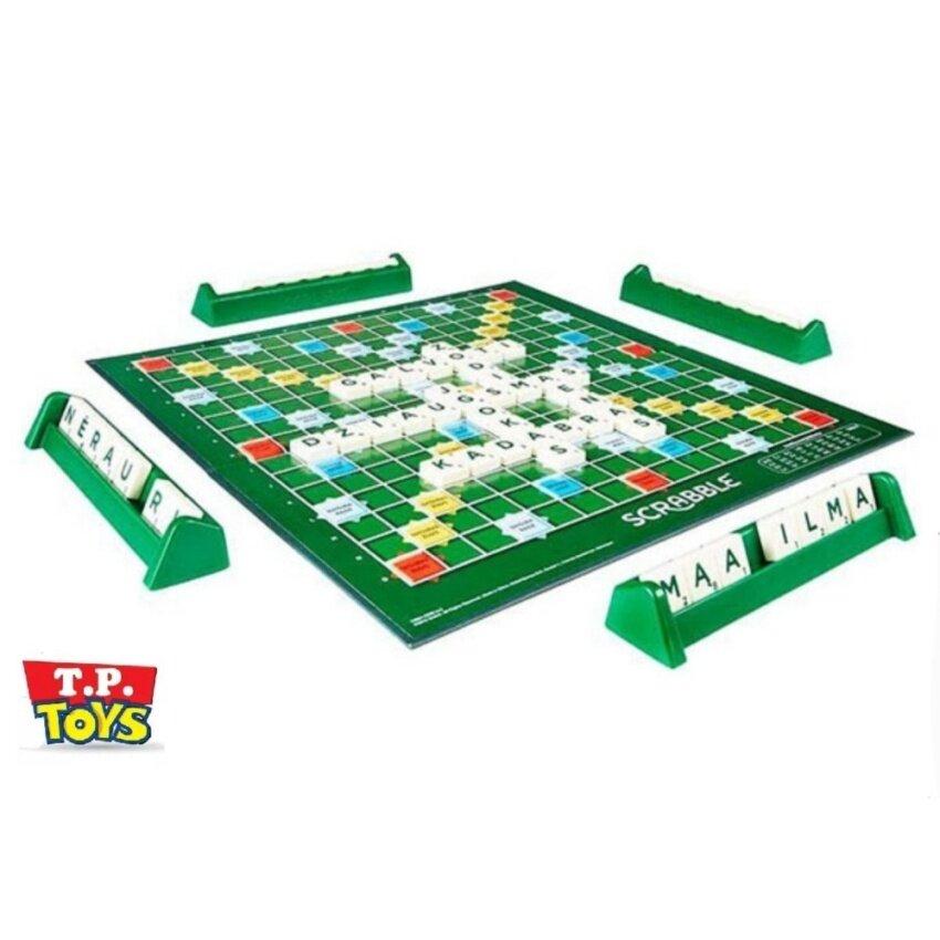 T.P.TOYS เกมส์กระดาน Scrabble ต่อคำศัพท์