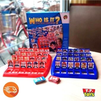 Harga T.P.TOYS เกม WHO IS IT Family Kids