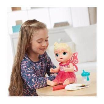 ตุ๊กตาเด็ก ตุ๊กตาทารก น่ารัก - สามารถเพนท์หน้า และ ป้อนน้ำได้ - Baby alive Face Paint Fairy (TRU-701017)