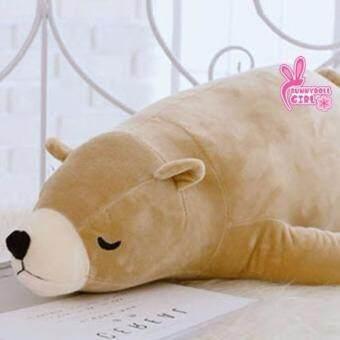 ตุ๊กตาหมีขั้วโลก ตุ๊กตาหมีขี้เซา(ไซส์M 75 เซน) ตุ๊กตาหมีตัวใหญ่ นุ่มสำหรับของขวัญวันเกิด ของขวัญปีใหม่