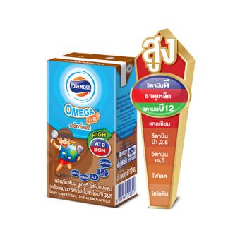 โฟร์โมสต์โอเมก้า369 รสช็อคโกแลต 110มล.(48กล่อง/ลัง)