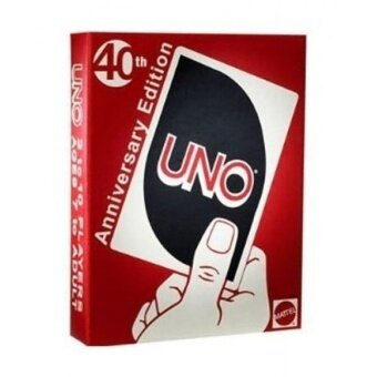 Uno 40th Anniversary Edition Card Game - intl
