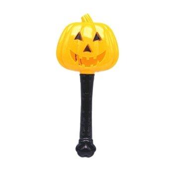 USTORE Halloween Pumpkin Ghost Magic Wand Luminous Witch Wand Funny Children Toys - intl