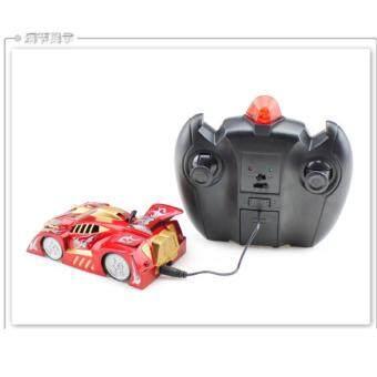รถวิทยุบังคับแบบไต่ผนังได้ - สีดำ (Wall Climber Car)