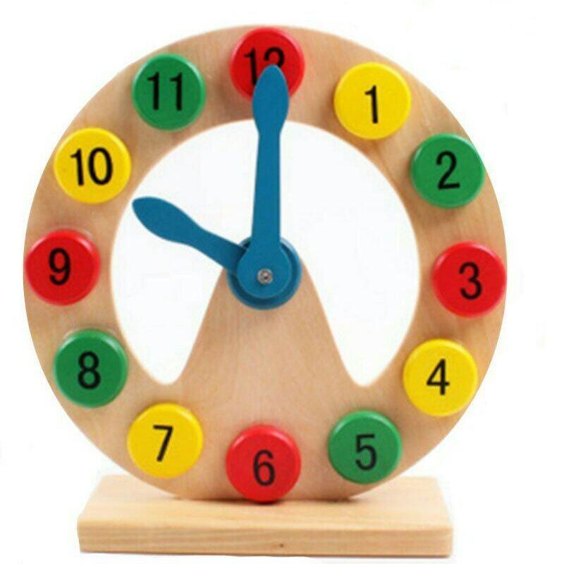 We Smith ของเล่นเด็กฝึกทักษะนาฬิกาสอนเวลา - toys clock2