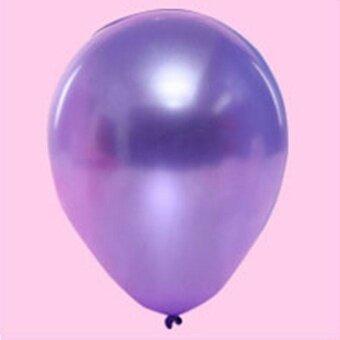 Wedding Decorate Decoration Supplies Pearl Balloon - Purple - intl