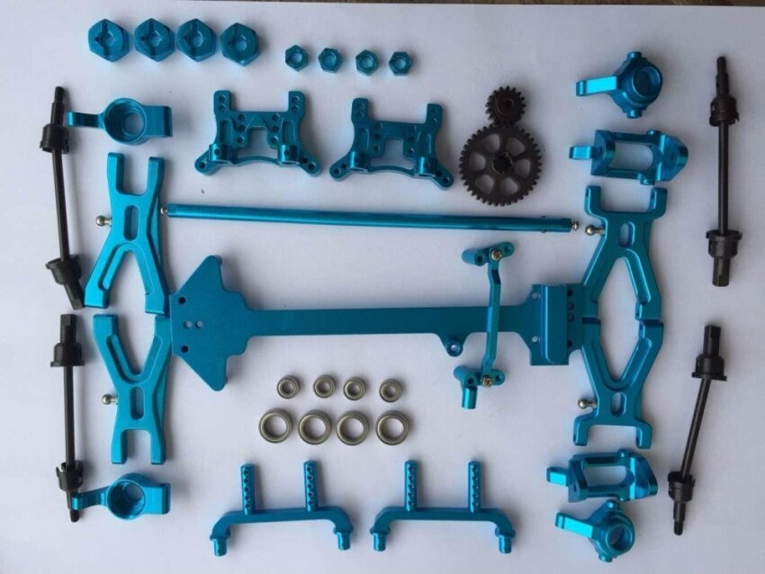 WLtoys 1/18 Upgraded Metal Parts Kit - intl
