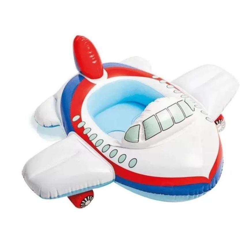 Worktoys ห่วงยางว่ายน้ำเด็กแบบสอดขาเด็ก ลายเครื่องบิน