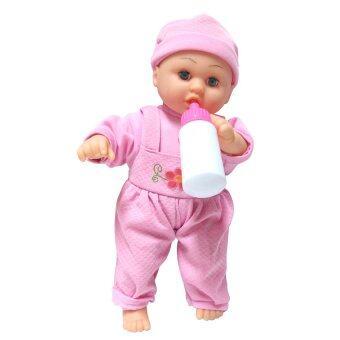 Worktoys Lovely Doll ตุ๊กตาดูดนม (สีชมพู)