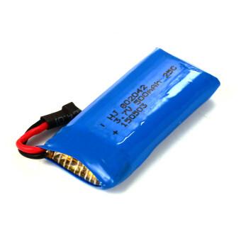 XCSource อุปกรณ์ชาร์จ USB Charger +แบตเตอรี่ 3.7V 500mAh Lipo 2ชิ้น สำหรับ Hubsan X4 H107D H107C H107L (image 3)