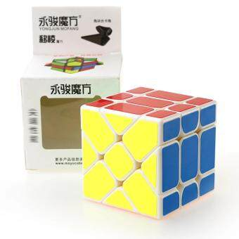 YongJun YJ 3x3x3 Speed Puzzle Rubix Cube Profissional CompetitionMagic Cube Educational Toys for Children Kids - intl