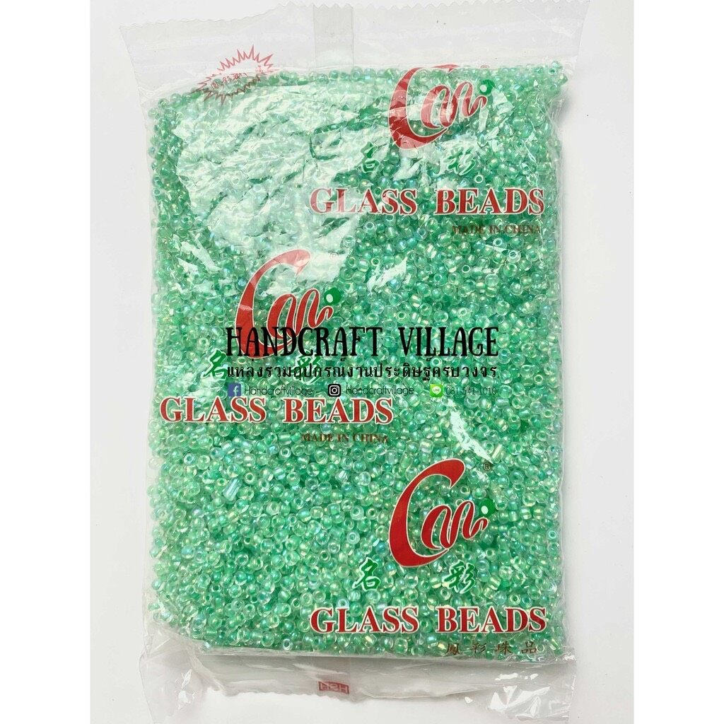 ลูกปัดเม็ดทราย 3 มิล ห่อใหญ่ 450 กรัม ราคาส่ง!! มีสีเยอะมากกกก