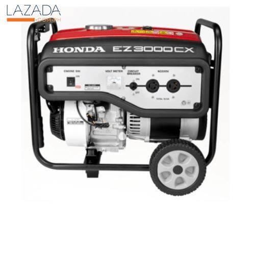 HONDA เครื่องปั่นไฟแบบปรับแรงดันไฟฟ้าอัตโนมัติ EZ3000CX R สีแดง รับประกันของแท้