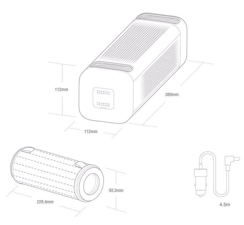 Original-Xiaomi-Car-Air-Cleaner-Smart-Purifier