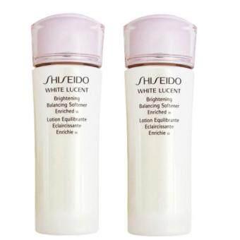 ซื้อ 1 ฟรี 1 Shiseido White Lucent Brightening Balancing Softener Enriched 25 ml. โลชั่นปรับสมดุลย์ช่วยคืนความนุ่มนวลให้ผิว