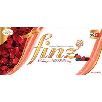 ฟินส์ คอลลาเจน ของแท้ 100%(Finz Collagen) 1 กล่อง 30 ซอง