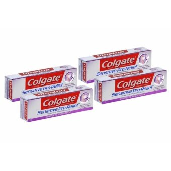 คอลเกต ยาสีฟัน เซนซิทีฟ โปรรีลีฟ คอมพลีท โปรเทคชั่น 110 กรัม แพ็คเดี่ยว X4