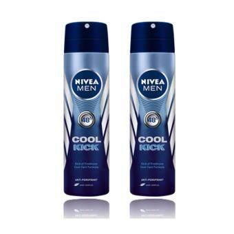 นีเวีย ดีโอ เมน คูล คิก สเปรย์ (150 มล.) แพ็ค 2 NDM Cool kick spray150 ml Pack 2