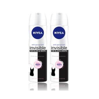 นีเวีย ดีโอ อินวิซิเบิ้ล ฟอร์ แบล็ค แอนด์ ไวท์ เคลียร์ สเปรย์ (150 มล.)แพ็ค2 NDWM B&W Clear Spray 150ml Pack 2
