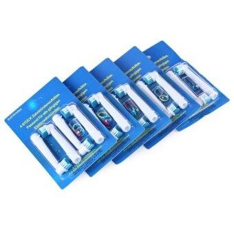 ขาย 20pcs Professional 20pcs Vitality Electric Replacement Toothbrush -intl