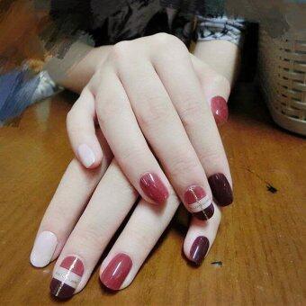 24 Pcs/Set Artificial False Nails Tips Fake Nail - intl
