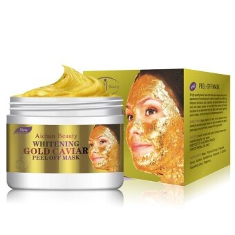 24K Gold Collagen Peel Off Facial Mask Face Skin Moisturizing Firming Anti Aging - intl