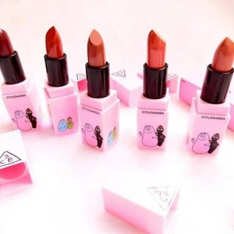 3CE Barbapapa Mood Recipe Lip Color *Set5
