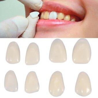 70PCS/Bag Teeth Veneers Resin Anterior Upper Temporary Crown ForDental Oral Care - intl