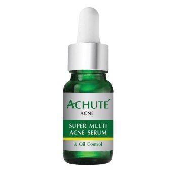 Achute เซรั่มลดสิวลดมัน Super Multi Acne and Oil Control Serum 10g.