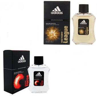 Adidas Team Force Adidas for men 100 ml. + Adidas Victory League For men 100ml.พร้อมกล่อง