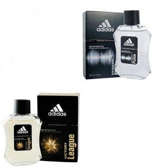 Adidas Victory League For men 100ml. +Adidas Dynamic Pulse Colognefor Men 100 ml พร้อมกล่อง