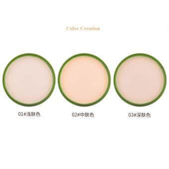 ANA Lideal Aloe Vera 99% Soothing And Moisture Powderแป้งฝุ่นอัดแข็ง ควบคุมความมัน เนื้อบางเบา ให้การปกปิด อย่างดีเยี่ยม#No.02 - 2