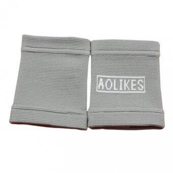 เปรียบเทียบราคา AOLIKES ผ้ารัดข้อเข่า ช่วยการยืดหยุ่นจากการออกกำลังกาย(สีเทา)